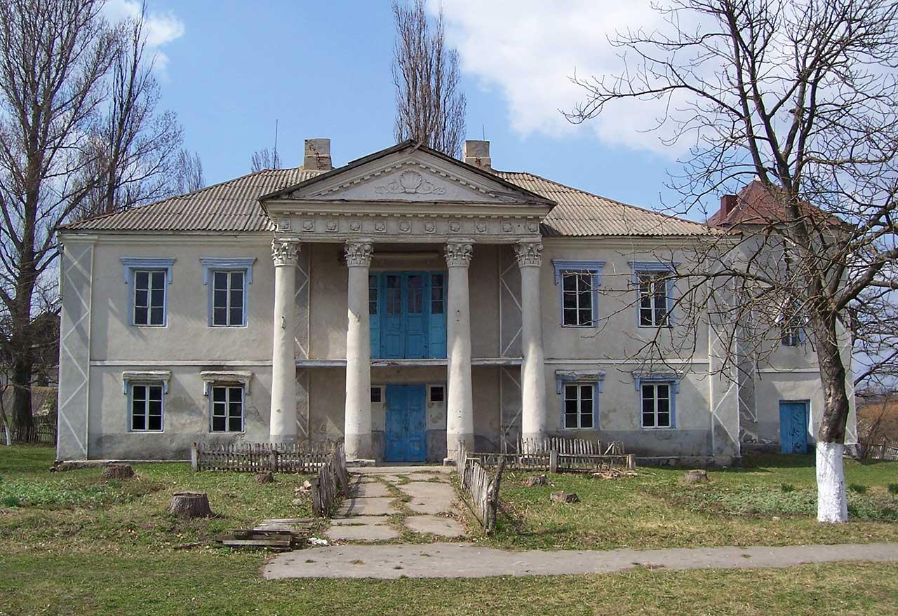 Pałac Janiszewskich w Żyszczyńcach. Źródło - wikipedia