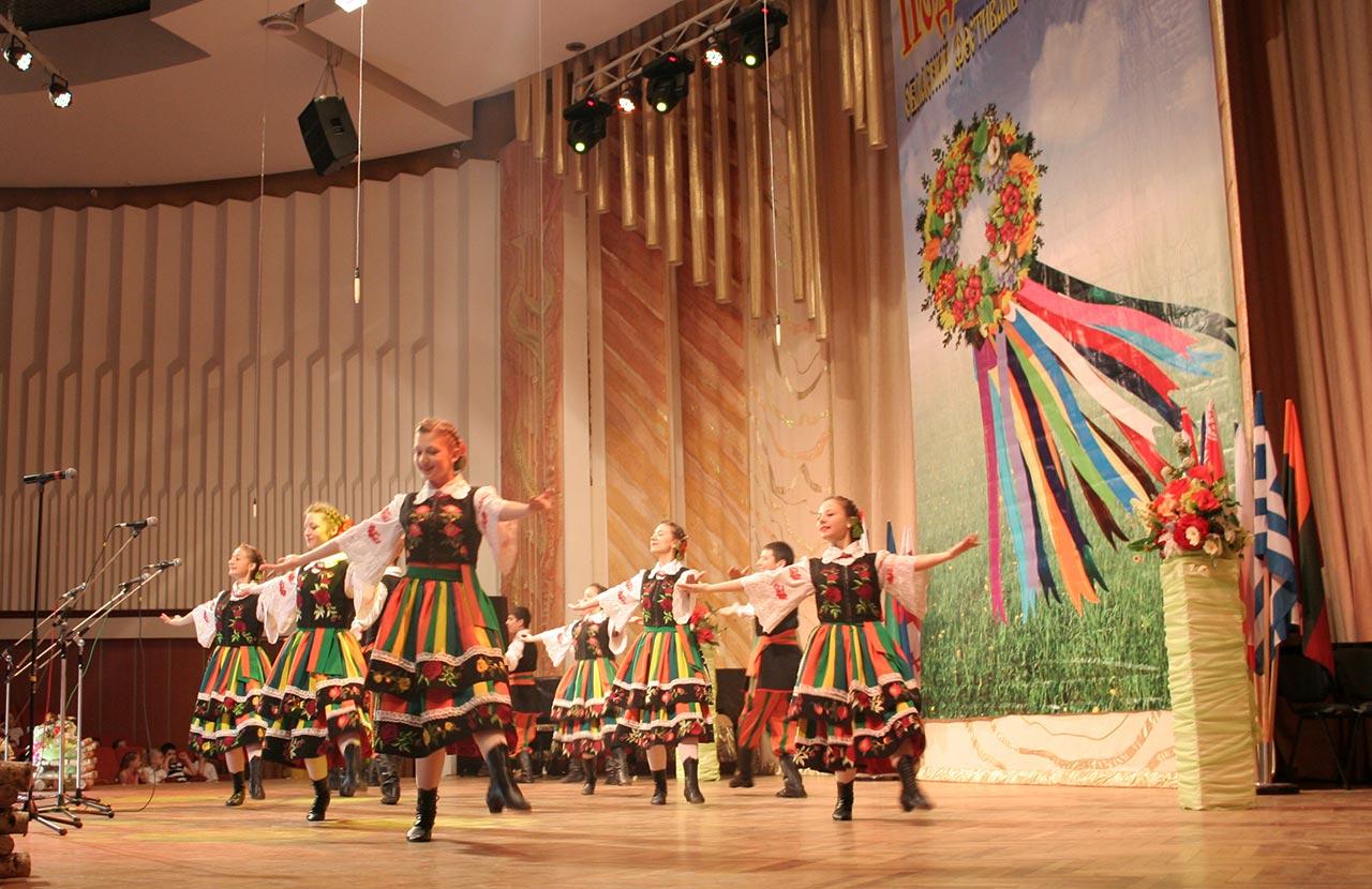 Podolskie alwy z Hniewania na XII Obwodowym Festiwalu Kultur Mniejszości Narodowych