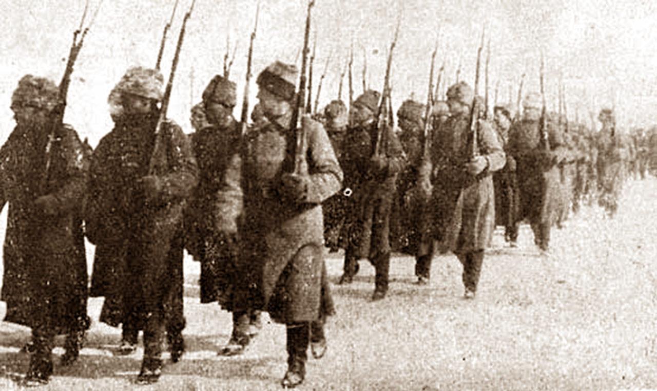 Marsz Polskiej Dywizji Syberyjskiej