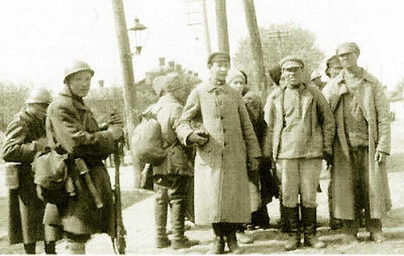 Bolszewicy, wzięci do niewoli podczas walk o Żytomierz w 1920 r.