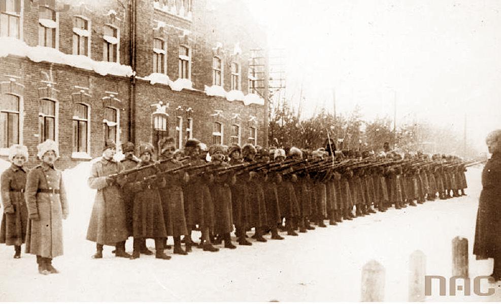 5 Dywizja Syberyjska - Szkoła Oficerska. Źródło - NAC
