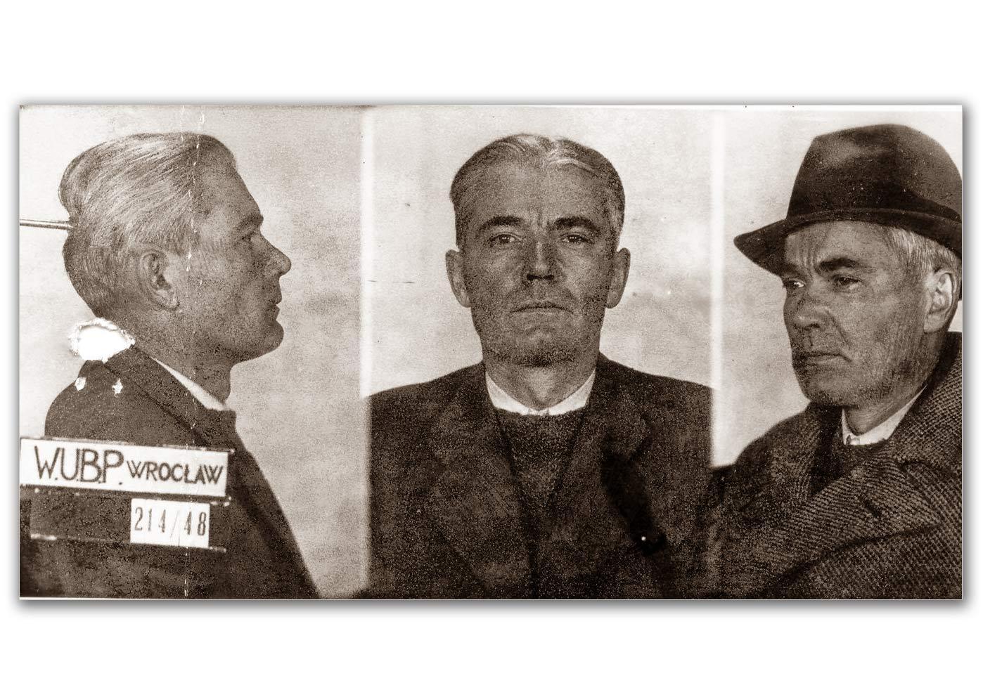 Ostatnie zdjęcie ppłk Sawickiego przed zamordowaniem w UB