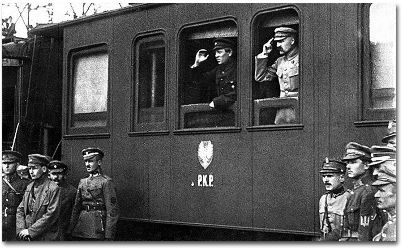 Na dworcu kolejowym w Winnicy