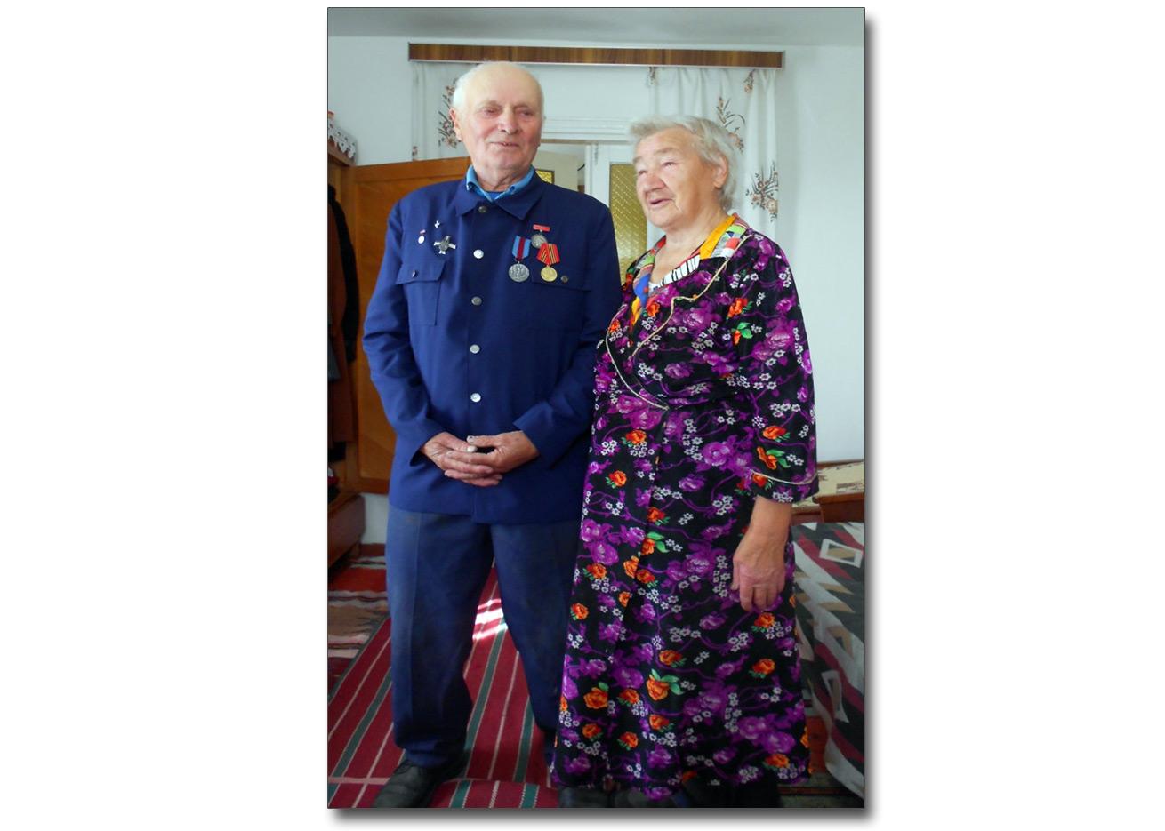 Franciszek i Zofia Jakowczykowie (Dowbysz, wrzesień 2011 roku)