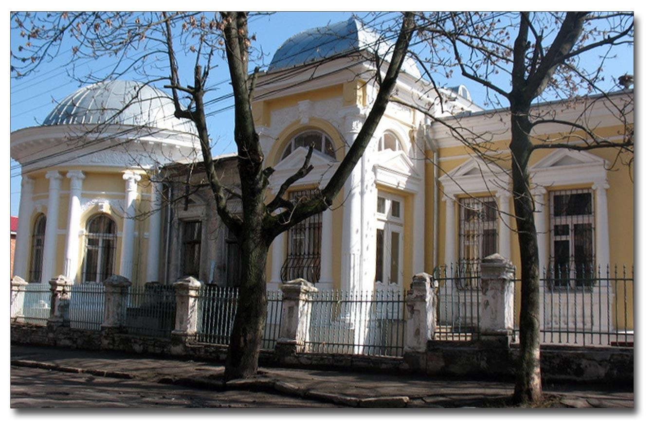 Budynek w stylu Ludwika XIV na ul. Czkałowa w Winnicy. Źródło - off-top.com.ua