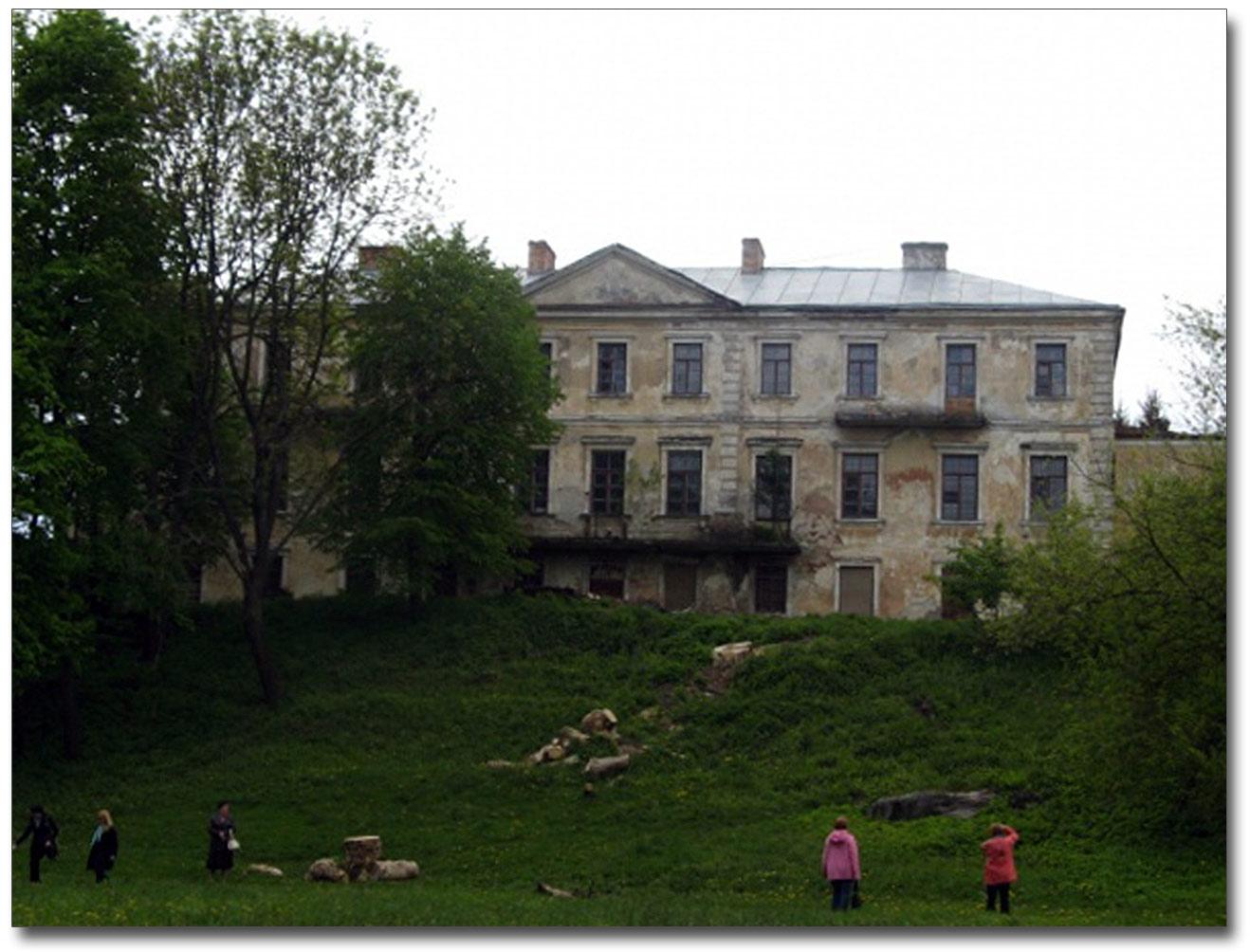 Pałac Myszki-Hołoniewskiego w Huszczyńcach. Źródło - io.ua