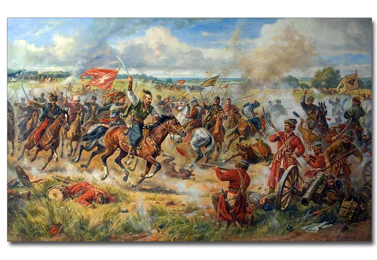 Dzieło Artura Orlenowa. Bitwa pod Konotopem. 2008 rok