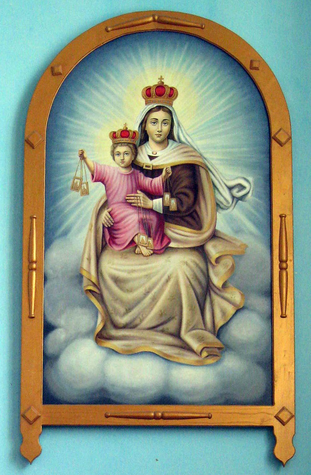 Obraz Matki Boskiej Szkaplerznej w Bracławiu