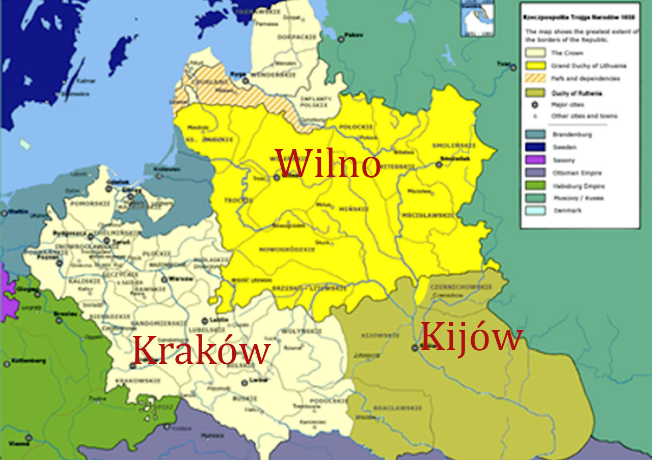 Niespełniony żywot Rzeczypospolitej Trojga Narodów. Źródło - altiok.blox.pl