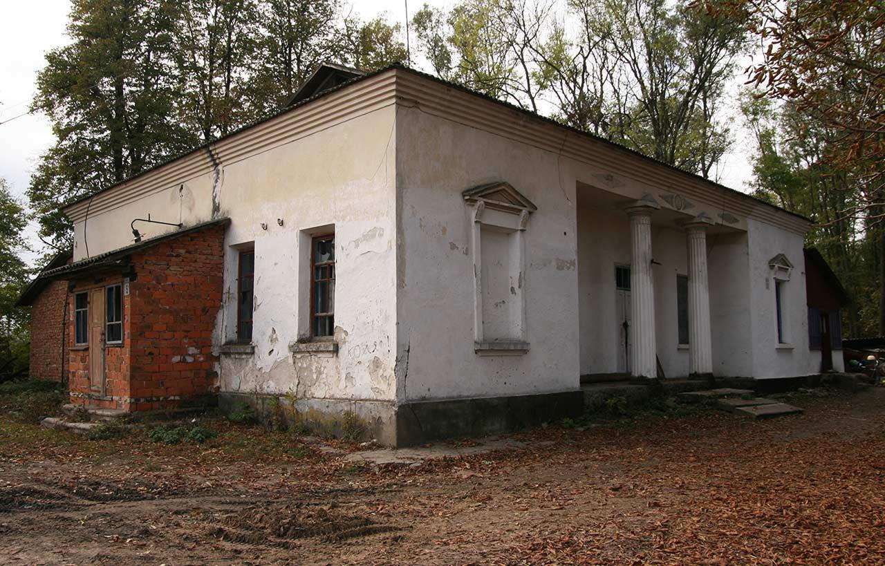 Była rezydencja Kubickich w Ładyhach