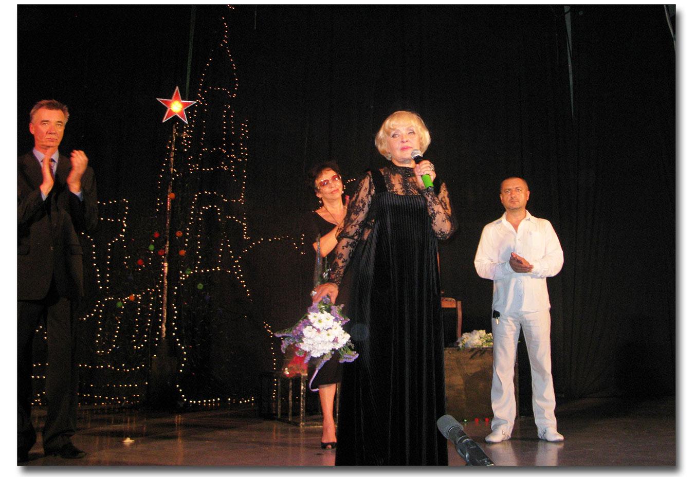 Ada Rogowcewa, dziękuje wszystkim, kto przybył ma spektakl