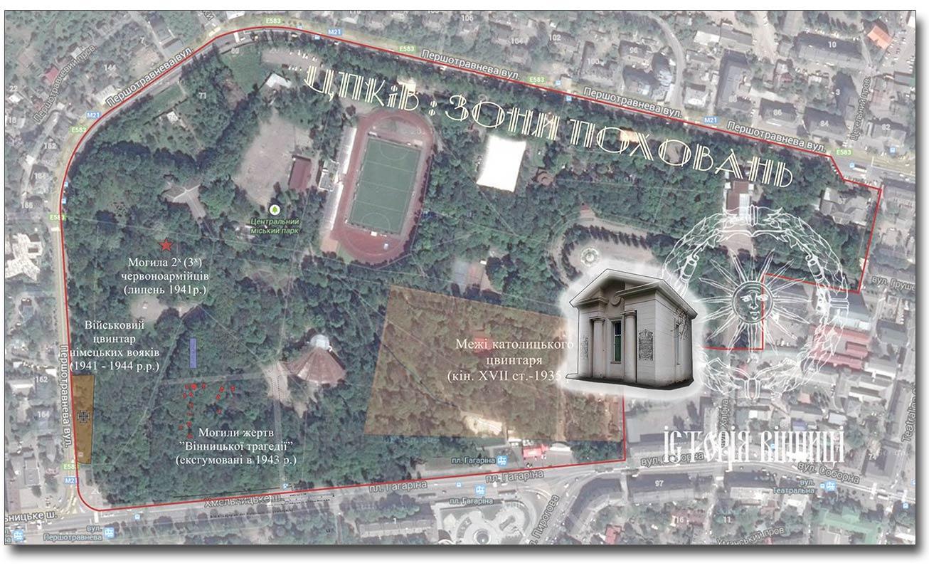 """Mapa została opracowana przez stowarzyszenie """"Historia Winnicy"""" (prezes - Oleksander Fedoryszen)."""