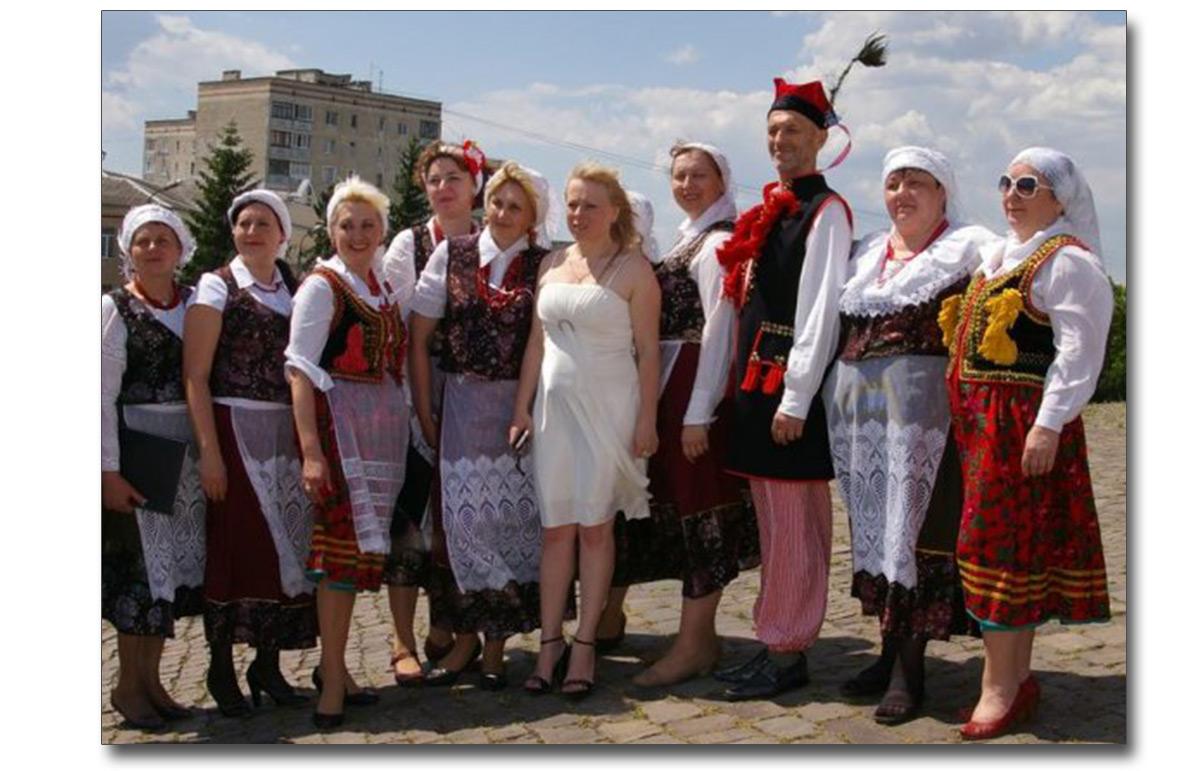 Potomkowie wczorajszych osadników z Mazur - członkowie zespołu Rozmaryn z Chmielnickiego
