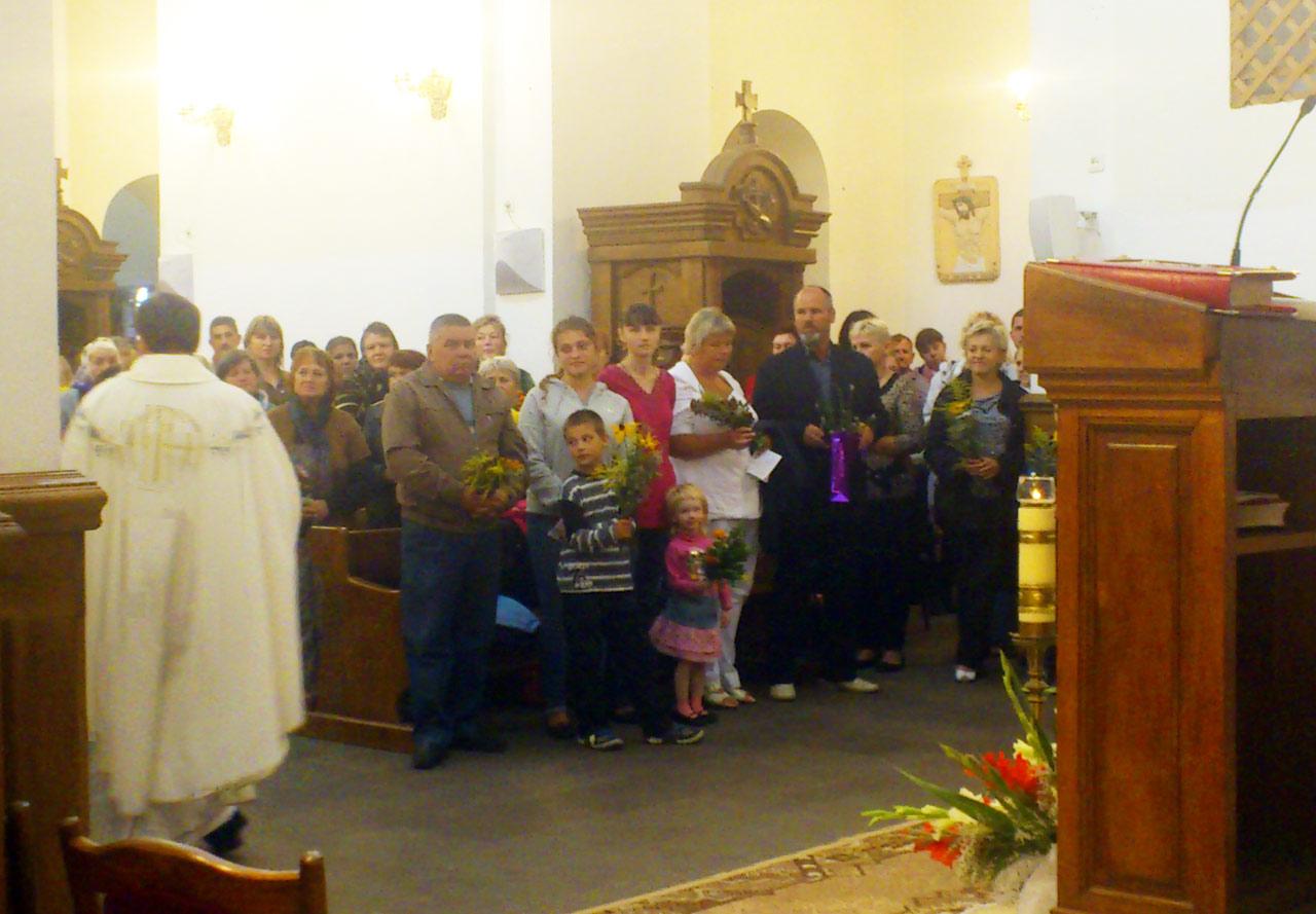 Zdjęcie zrobiono w kościele MB Anielskiej w Winnicy