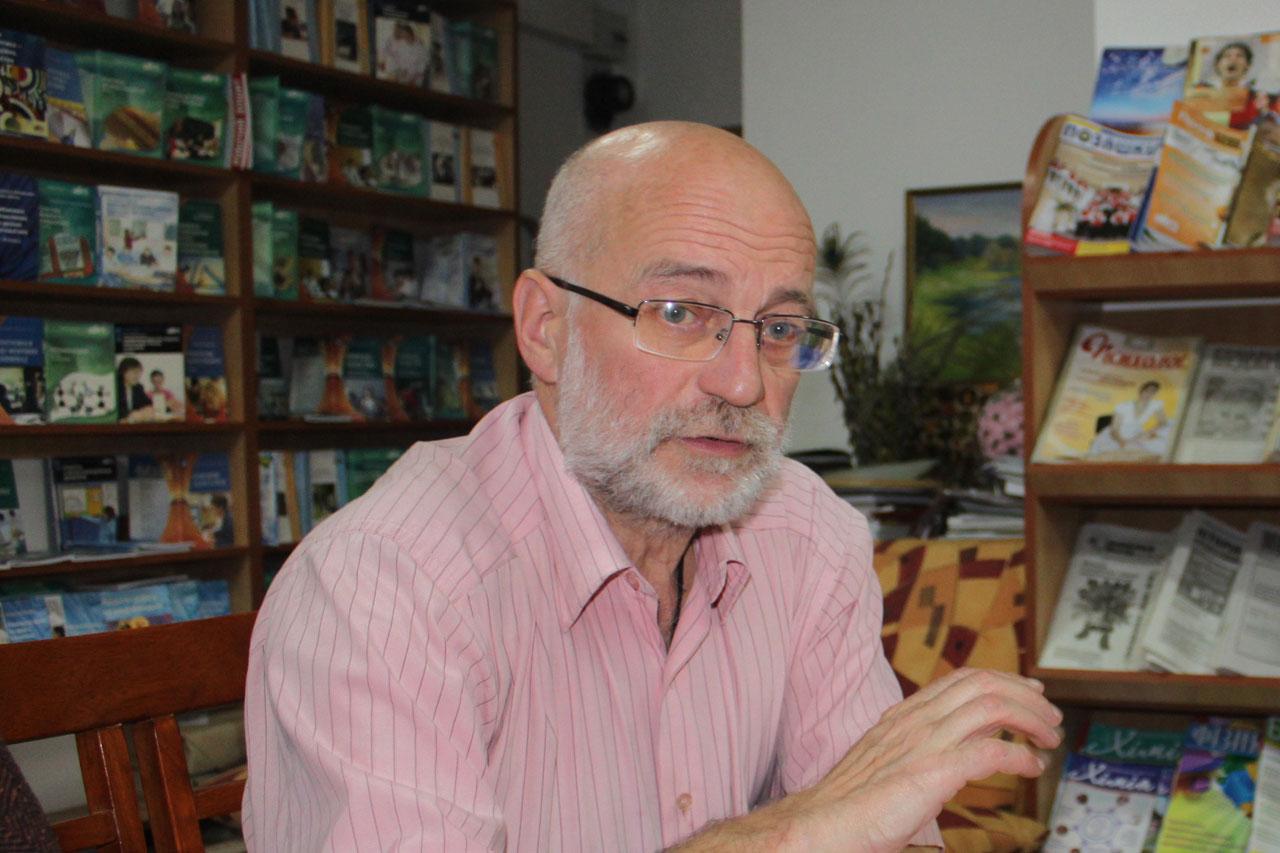 Na zdjęciu - Andrzej Kępiński