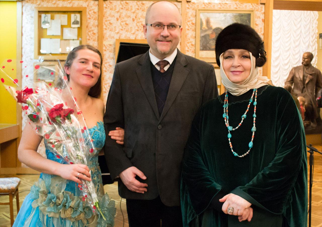 Od lewej - Olesia Sinczuk, Rafał Wolski
