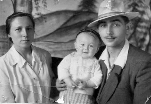 Józef i Maria z synem (też Józefem)