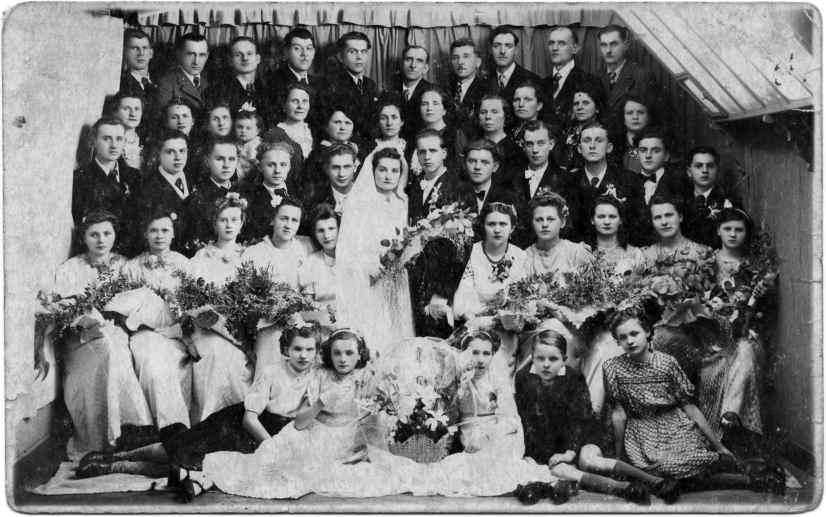 Wesele Kondratowiczów w 1938 roku