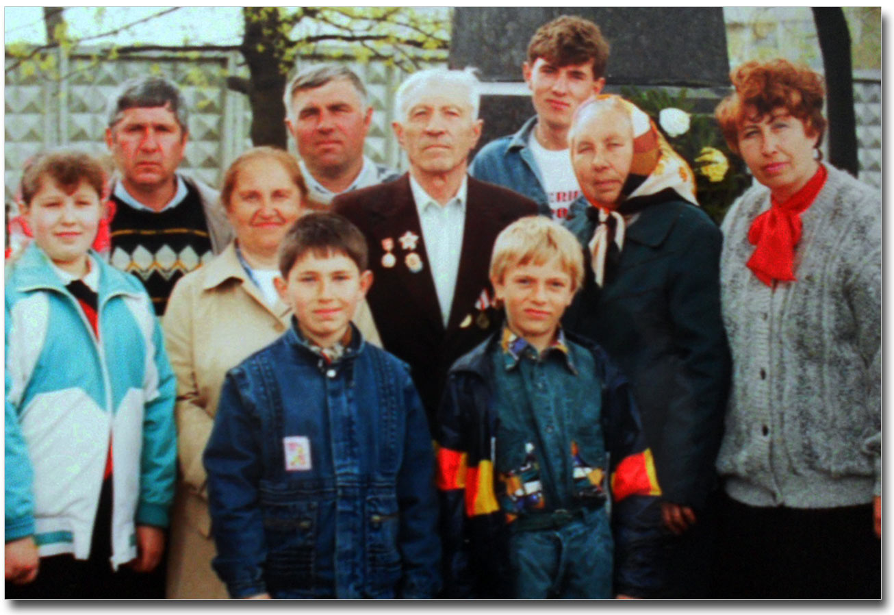 Wielka rodzina Żukowych-Kurjat (lata 90-te)