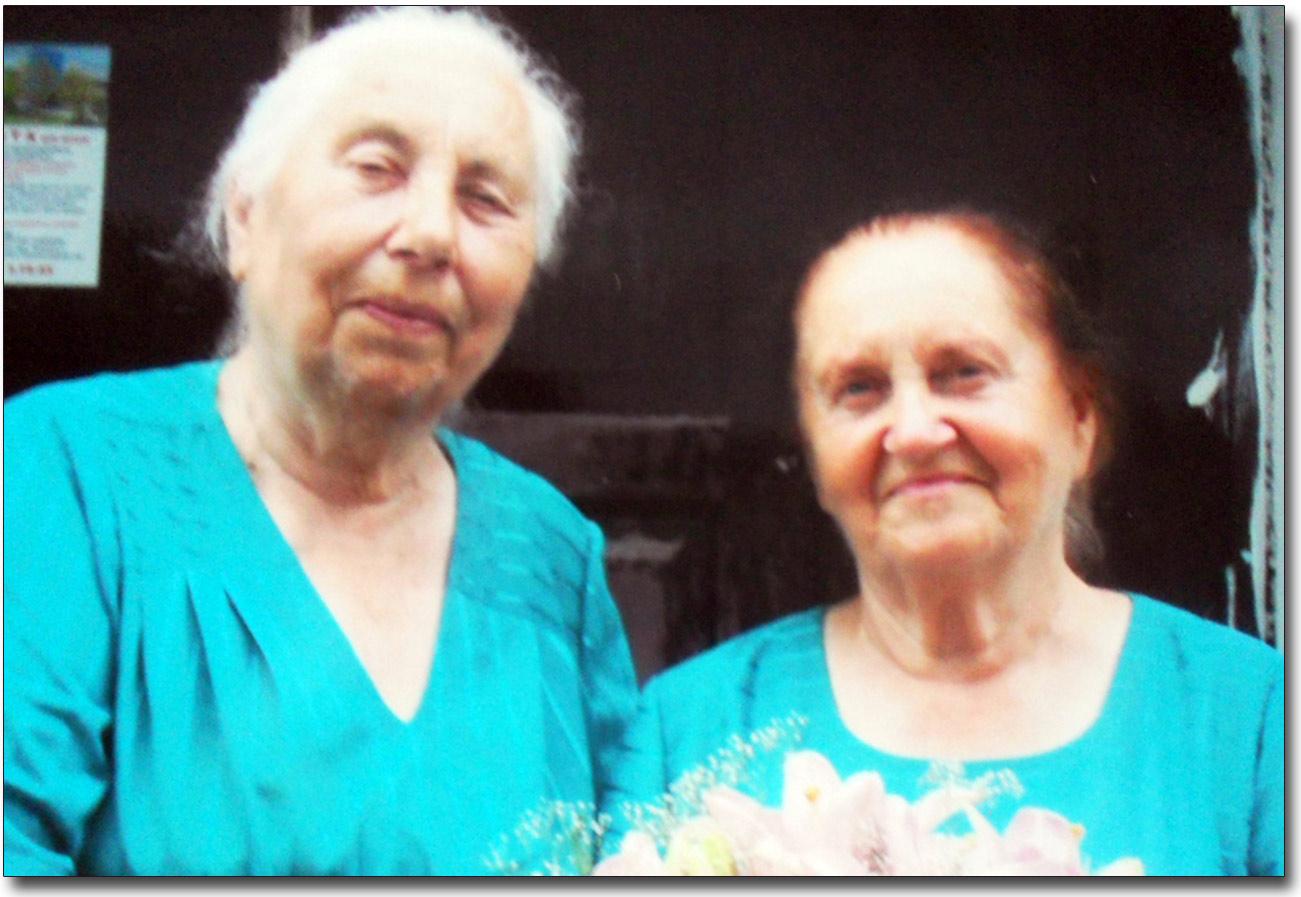 Siostry - Walentyna i Łarysa Żukowy-Sobieccy
