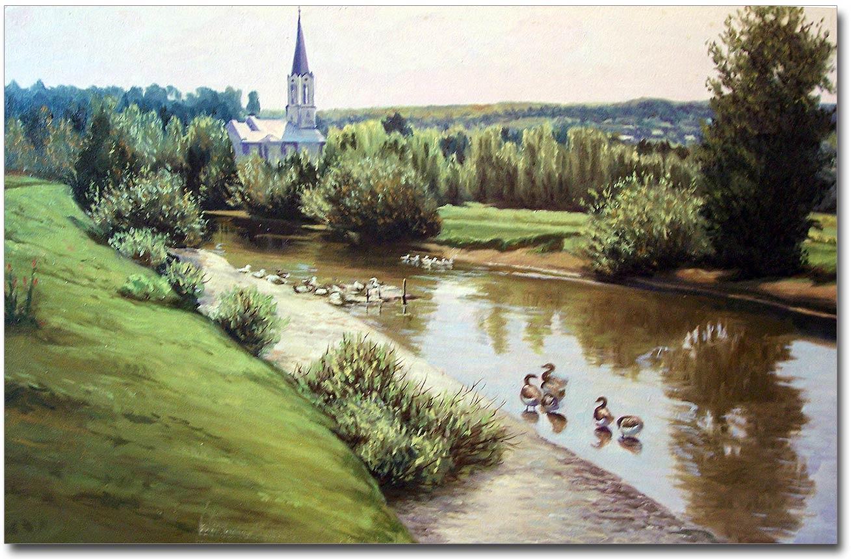 Kościół na Marchlówce autorstwa Stanisława Gumeniuka