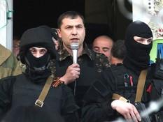 Lider ługańskich terrorystów Walery Bołotow. Źródło - unian.ua