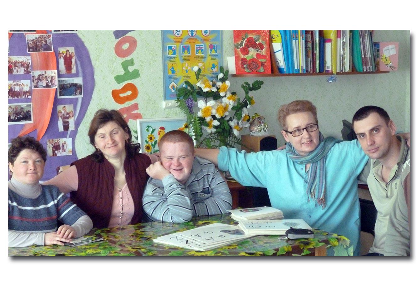 Małgorzata Michalska (druga od prawej) z podopiecznymi