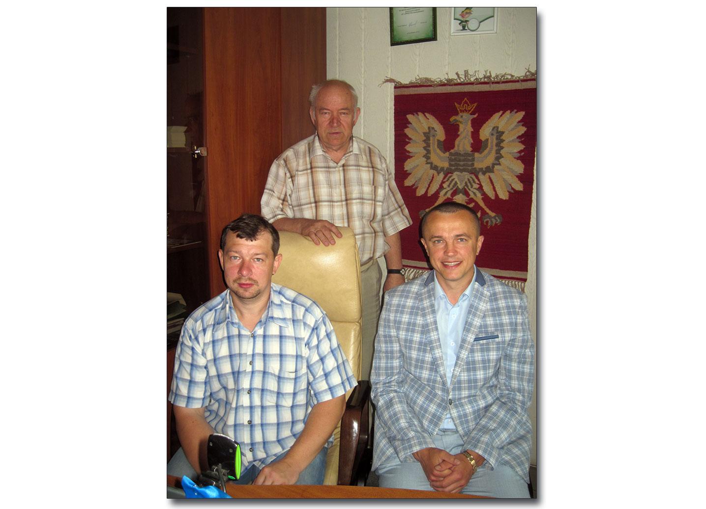 Wiaczesław Zariczniuk po prawej