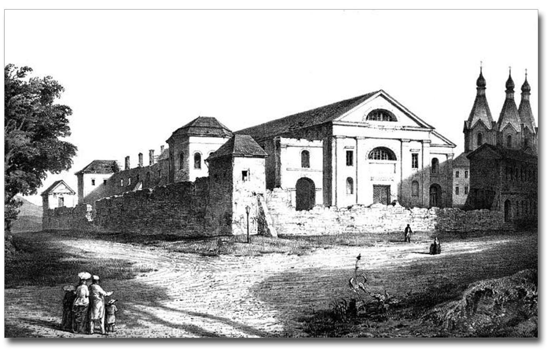 Kościół Jezuitów w Winnicy, dziś obwodowe archiwum