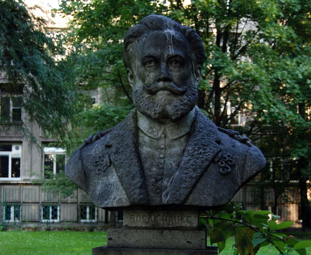 Popiersie Józefa Hauke w Krakowie