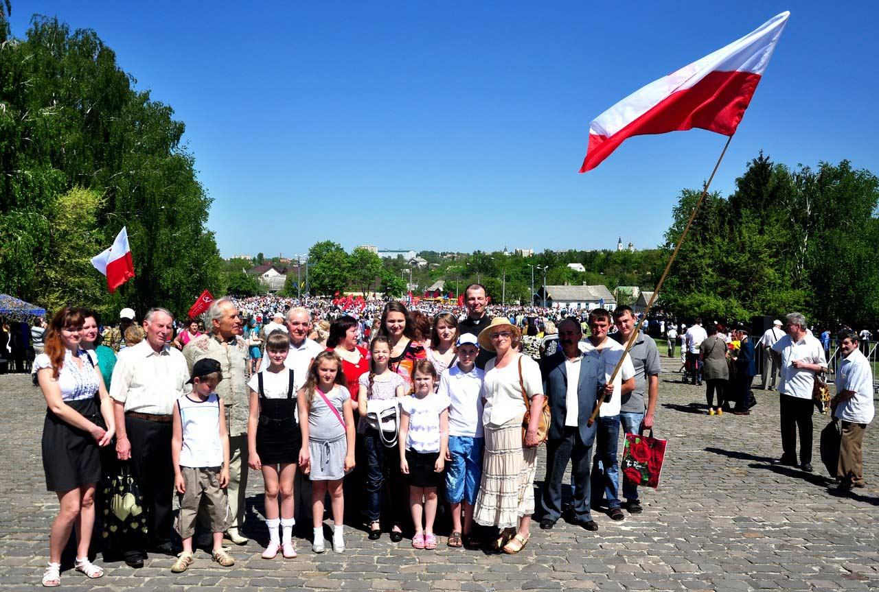 Polacy Żytomierza uczestniczą w paradzie