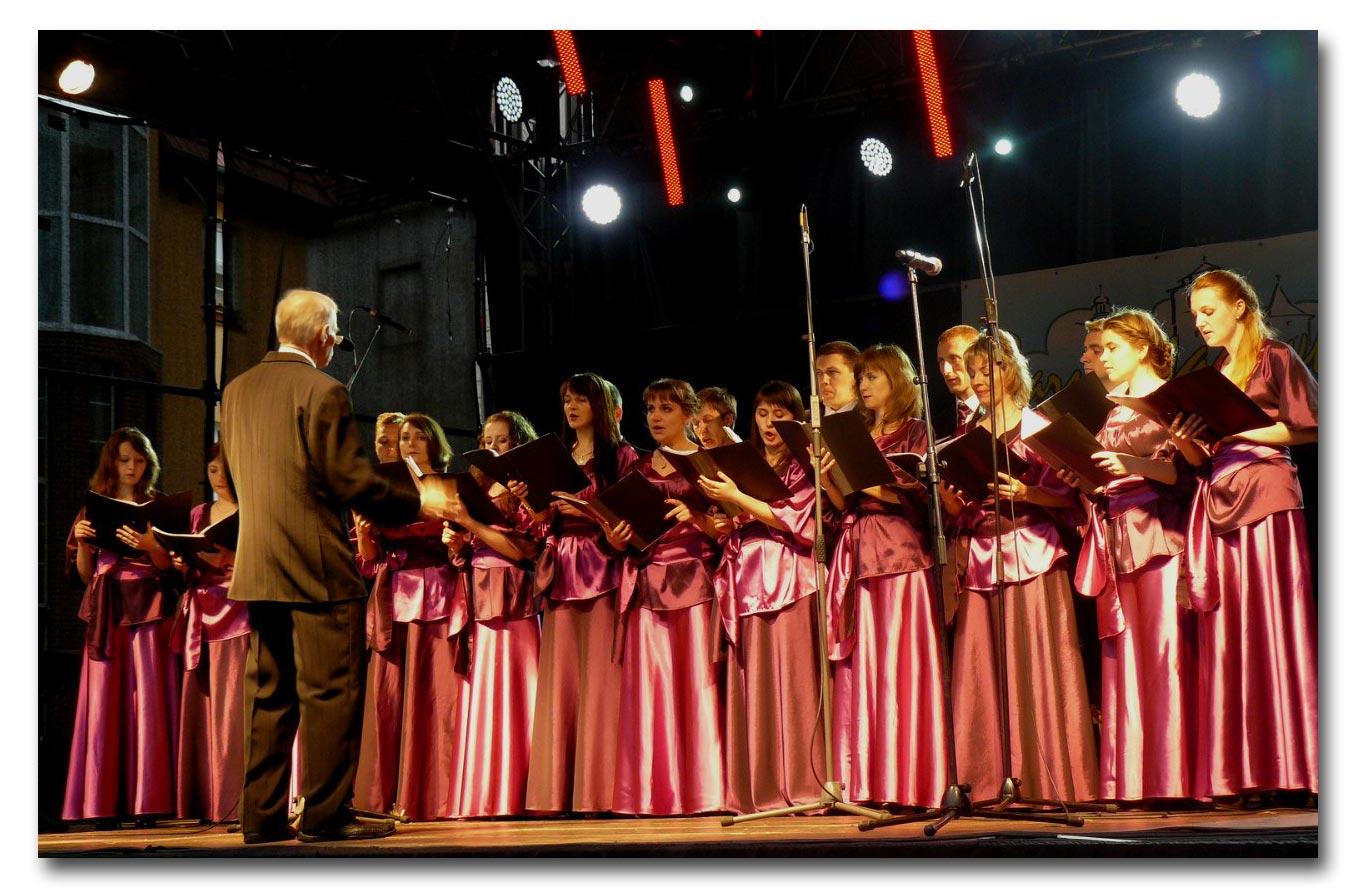 Zdjęcia z prywatnej kolekcji chóru im. Zarembskiego