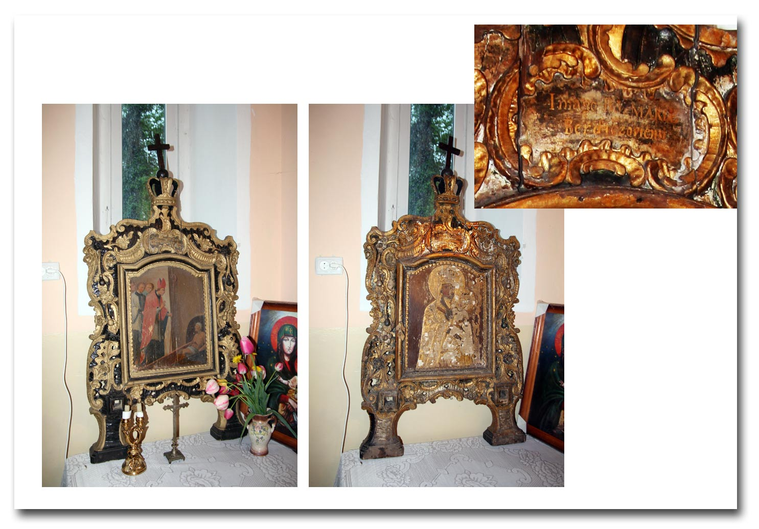 Obraz MB Berdyczowskiej w kaplicze pod Chmielnikiem