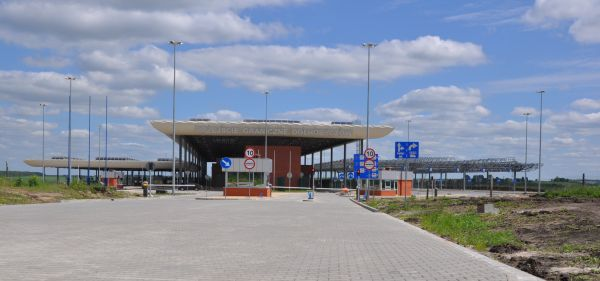 Widok na nowe przejście graniczne w Hrubieszowie od polskiej strony. Zdjęcie pobrano z http://www.starostwo.hrubieszow.pl/hrubieszow.php?get=news,504