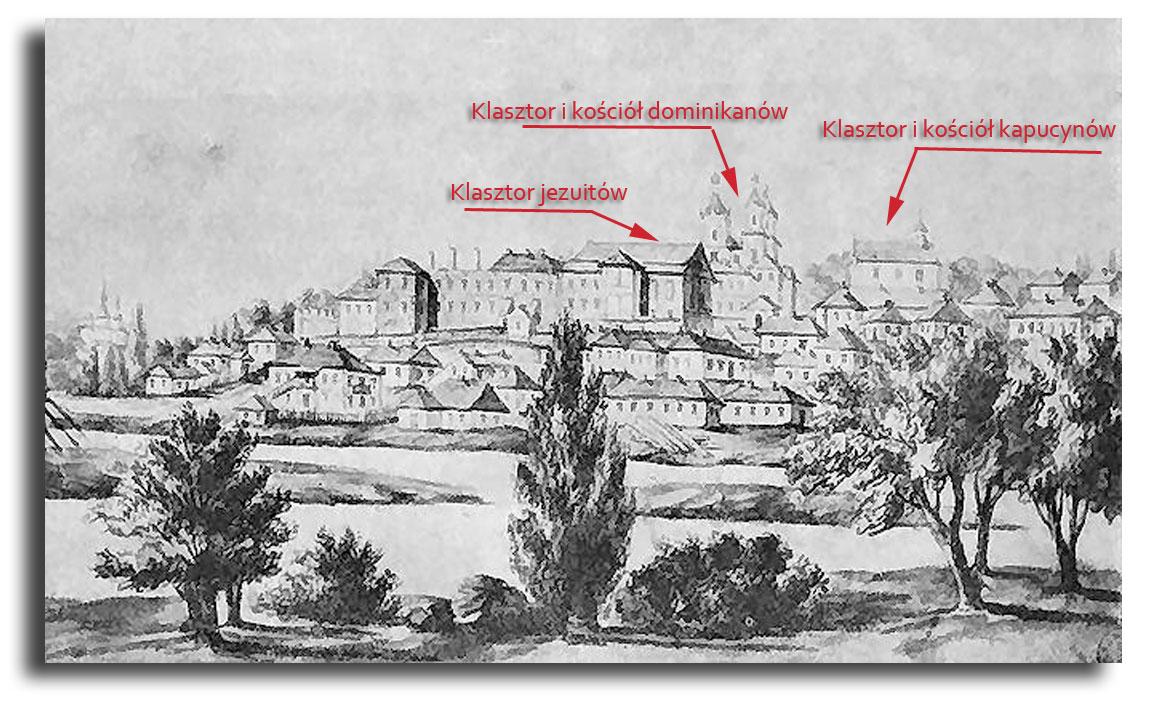 Widok na Winnicę z lewego brzegu rzeki Boh
