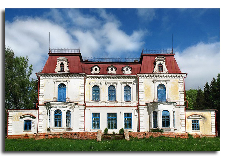 Były pałac Sobańskich-Tyszkiewiczów. Zdjęcie pobrano z http://voyager-a.livejournal.com/51963.html