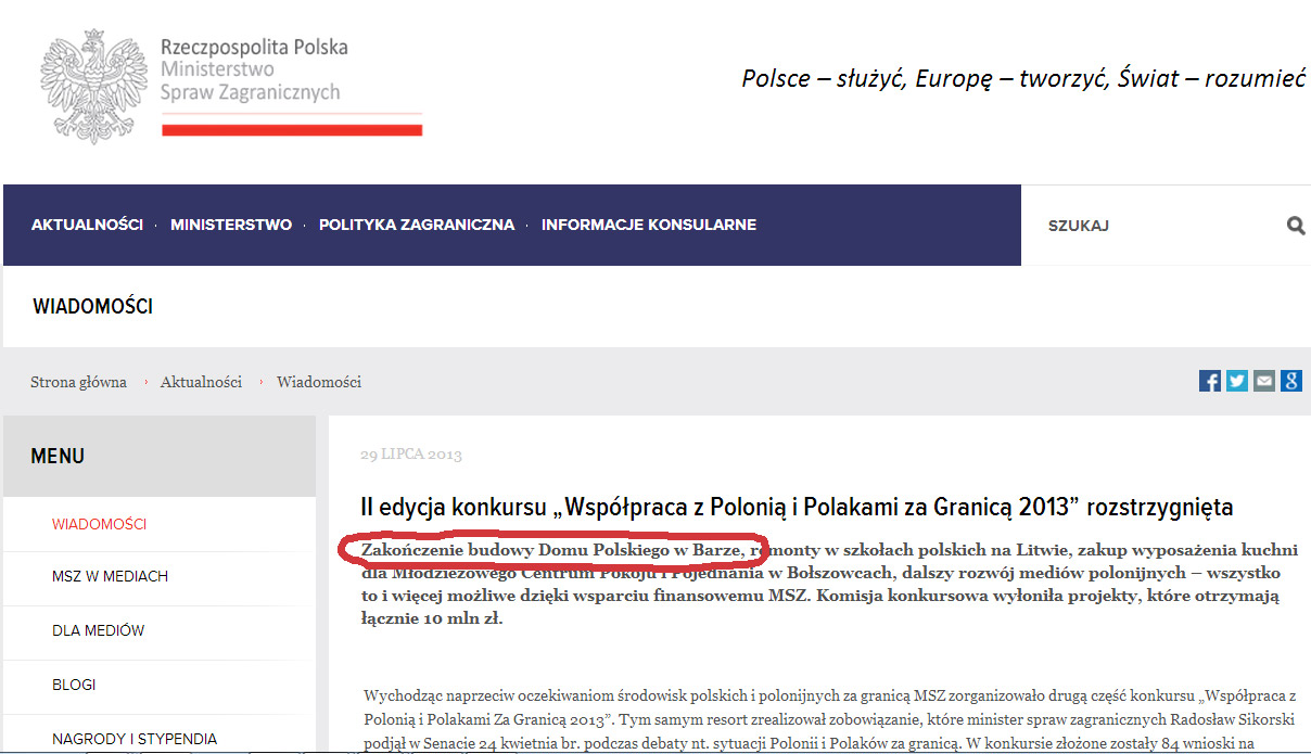 Zdjęcie pobrano z msz.gov.pl