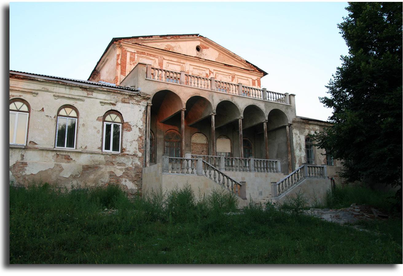 Była polska rezydencja w Daszowie