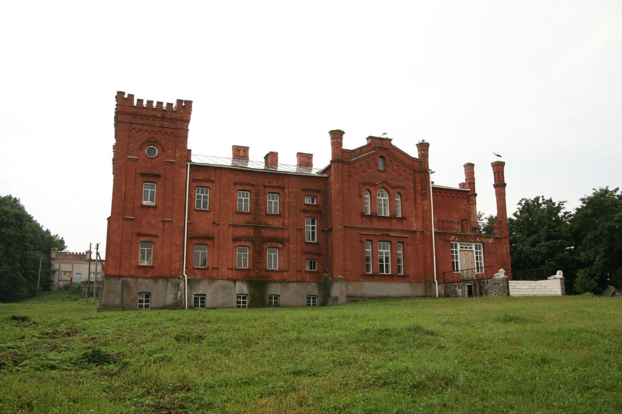 Pałac w Małej Rostówce