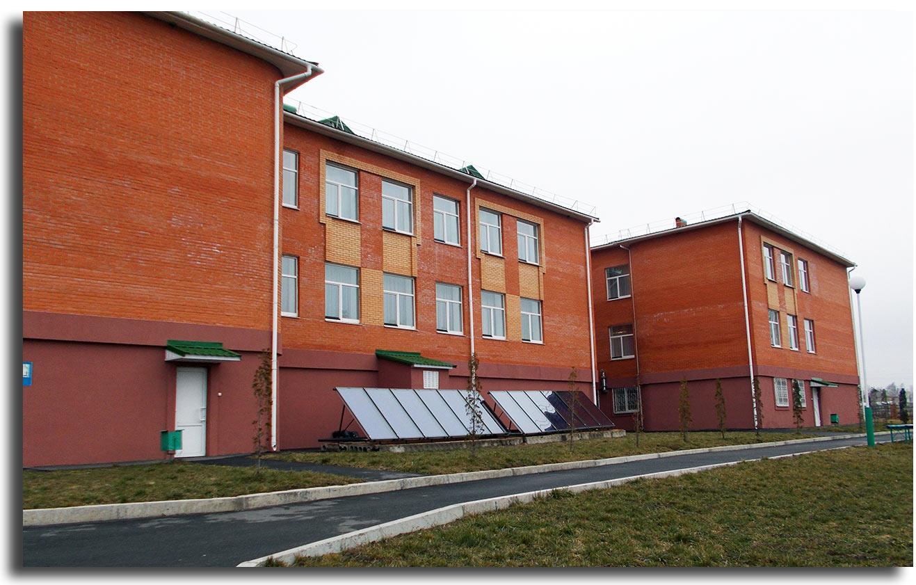 Szkoła w Szarogrodzie. Autor zdjęcia: Urszula Zakrawacz