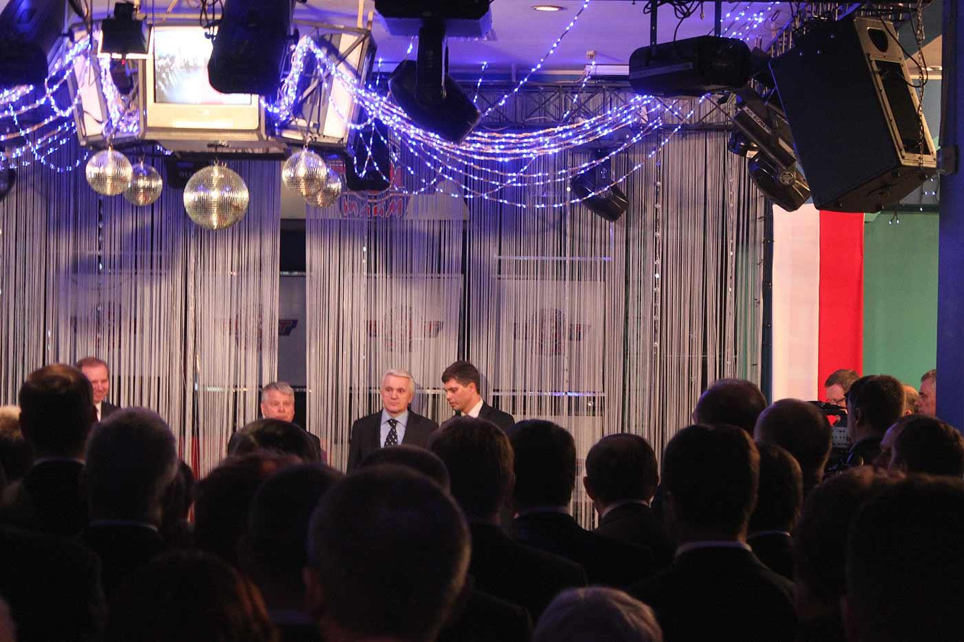 Łytwyn i Borusewicz na przyjęciu do Dni Polonii w Winnicy