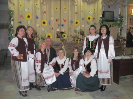 Na zdjęciu - chór z Maćkowiec